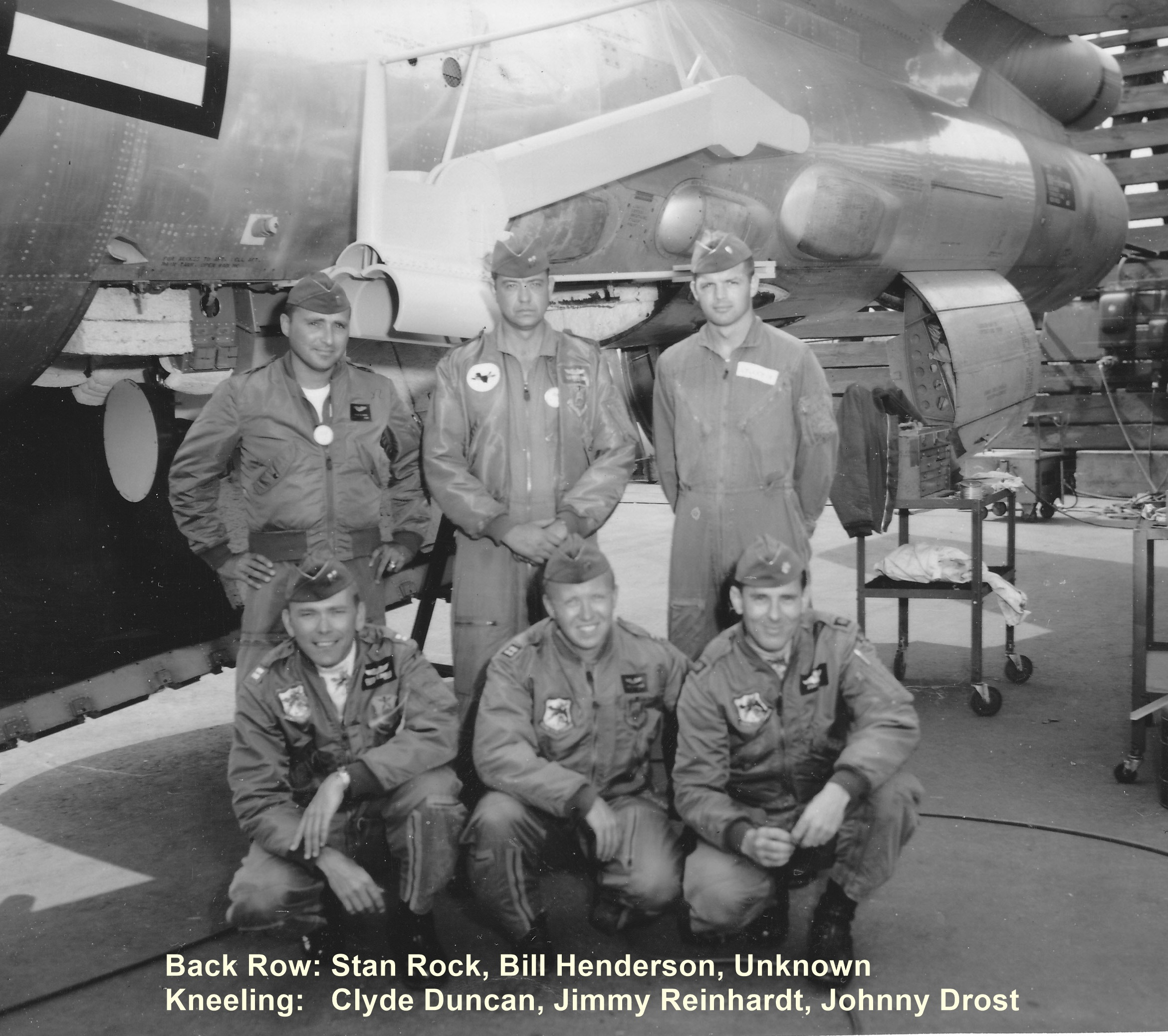Major John Drost RB-47H Crew- Iron Lung