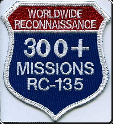 300+ Missions RC-135 patch